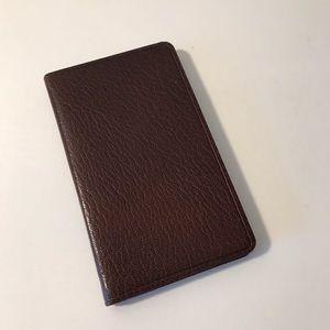 Judith Leiber pocket notebook